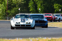 Group 6-10-12a Big Bore Production Cars at the 2019 SVRA Portland Speedtour run at Portland International Raceway