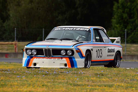 Thor Johnson - 1974 BMW Schnitzer 2800 CSL in Group 8-12b GT/Production Cars at the 2019 SVRA Portland Speedtour run at Portland International Raceway