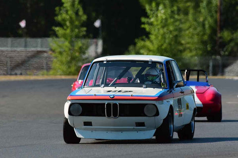 Deborah Briscoe - 1969 BMW 2002 in Group 8-12b GT/Production Cars at the 2019 SVRA Portland Speedtour run at Portland International Raceway