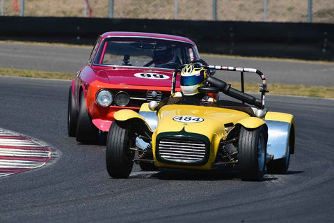 Doug Warneke - 1962 Lotus Super 7 in Group 8-12b GT/Production Cars at the 2019 SVRA Portland Speedtour run at Portland International Raceway