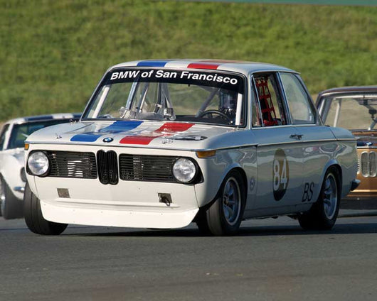 Henry Schmitt with 1972 BMW 2002 in Group 8 - at the 2016 CSRG David Love Memorial - Sears Point Raceway