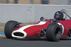 Greg Vroman - 1969 Brabham BT29 in Open Wheel Cars -1600cc Twin Cam or Less - Group 4 at the 2017 SVRA Sonoma Historic Motorsports Festivalrun at Sonoma Raceway