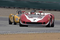 Johan Woerheide - 1965 Lola T70 Mk II in Group 5A  at the 2016 Rolex Monterey Motorsport Reunion - Mazda Raceway Laguna Seca