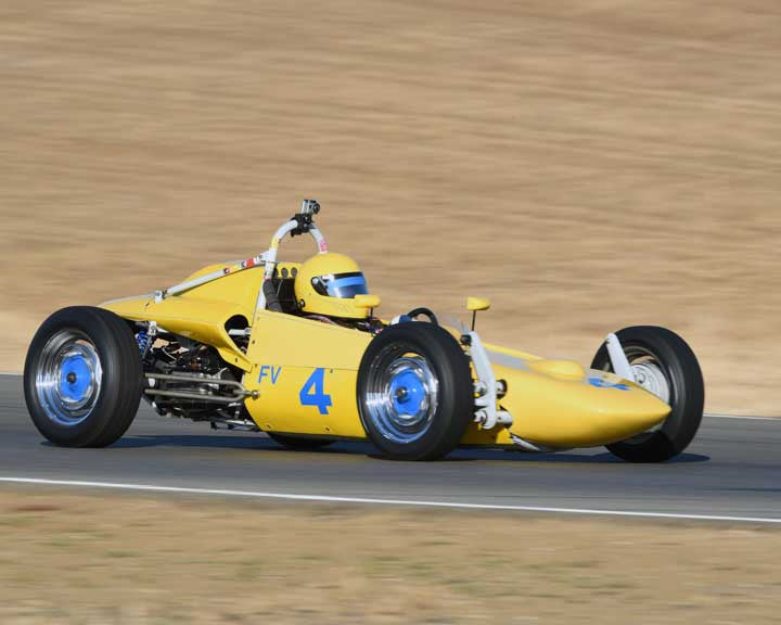 Jay McEnroe with 1967 Beach Mk 5C FV in  Group 5 at the 2015 Season Finale at Thunderhill Raceway