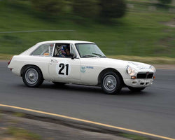 Michael Green with 1966 MG B GT FIA Type in Group 2 - at the 2016 CSRG David Love Memorial - Sears Point Raceway