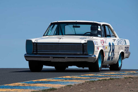 James Franzone with 1965 Ford Galaxie  in Group 5 -  at the 2016 SVRA Sonoma Historics - Sears Point Raceway