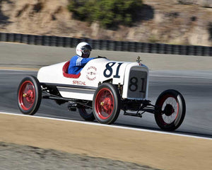 Bruce Hudkins with 1922 Ford Model T Speedster in Group 1A - Pre 1940 Sports Racing and Touring Cars at the 2015-Rolex Monterey Motorsport Reunion, Mazda Raceway Laguna Seca