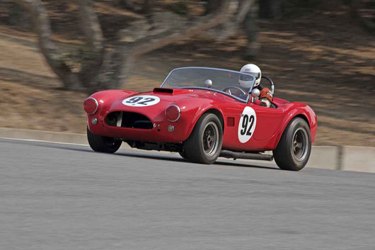 Bill Hartman - 1963 Shelby Cobra in Group 6B  at the 2016 Rolex Monterey Motorsport Reunion - Mazda Raceway Laguna Seca