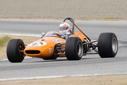 Paul Richins - 1967 Brabham BT 21C in Group 4 at the 2017 HMSA Spring Club Event - Mazda Raceway Laguna Seca