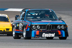Bill Glavin - 1972 BMW 3.0 CSL - Group 8 at the 2017 Brickyard Vintage Racing Invitational run at Indianapolis Motor Speedway