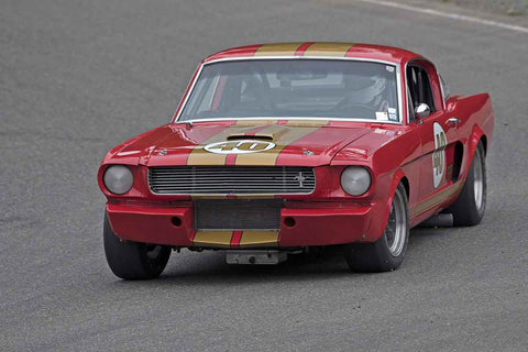 Nick De Vitis - 1966 Shelby GT350 in Group 3 at the 2017 SOVREN Spring Sprints run at Pacific Raceways