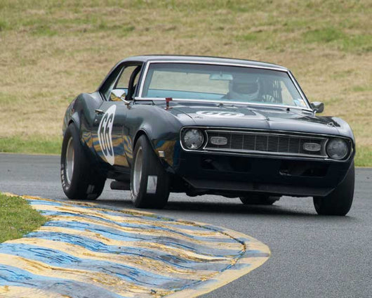 John Hildebrand with 1968 Chevrolet Camaro in Group 8 - at the 2016 CSRG David Love Memorial - Sears Point Raceway