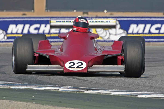 Bud Moeller - Ensign MN179 in Group 7B  at the 2016 Rolex Monterey Motorsport Reunion - Mazda Raceway Laguna Seca