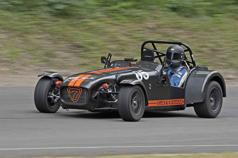 Ian Battye - Caterham R500 in Group 7 at the 2017 SOVREN Pacific Northwest Historicsrun at Pacific Raceways
