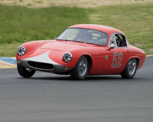 Dennis Adair with 1959 Lotus Elite Type 14 in Group 9 - at the 2016 CSRG David Love Memorial - Sears Point Raceway