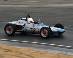 Bill Young with 1967 FV Beach MK 2 in  Group 5 at the 2015 Season Finale at Thunderhill Raceway