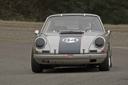 Dennis Daugs - 1965 Porsche 911 in Group 2 at the 2017 SOVREN Spring Sprints run at Pacific Raceways