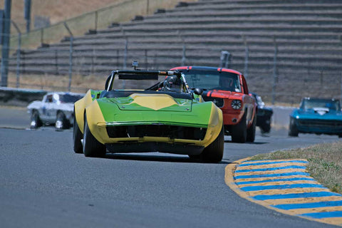 Randy Peterson with 1969 Chevrolet Corvette L88 in Group 6 -  at the 2016 SVRA Sonoma Historics - Sears Point Raceway