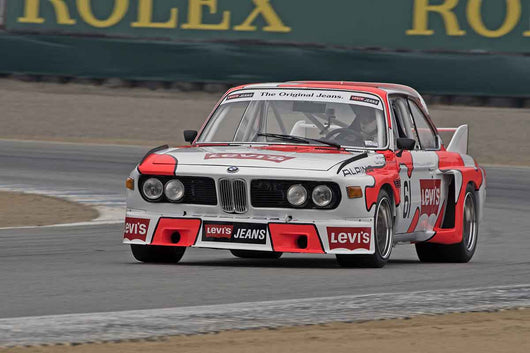 Karl Gustav Almstrom - 1971 BMW 3.0 CSL in Group 4A  at the 2016 Rolex Monterey Motorsport Reunion - Mazda Raceway Laguna Seca