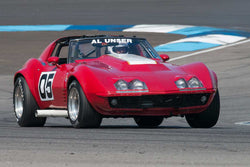 Tony Parella - 1972 Chevrolet Corvette - Group 6 at the 2017 Brickyard Vintage Racing Invitationalrun at Indianapolis Motor Speedway