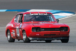 Ford Capri - Group 8 at the 2017 Brickyard Vintage Racing Invitational run at Indianapolis Motor Speedway