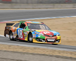 Kenny Epsman with 2014 Toyota Camry in Group 5 at the 2015 HMSA LSR Invitational II at Mazda Raceway Laguna Seca