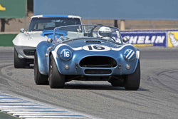 Lynn Park - 1963 Shelby 289 Cobra in Group 6B  at the 2016 Rolex Monterey Motorsport Reunion - Mazda Raceway Laguna Seca