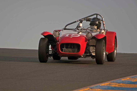 Marc Nichols - 1964 Lotus 7 in Group 3 - Large Displacement Production Sports Cars through 1967 at the 2017 CSRG Charity Challenge run at Sonoma Raceway