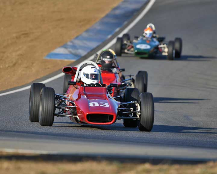 David Cooper with 1973 Titan FF in  Group 6 at the 2015 Season Finale at Thunderhill Raceway