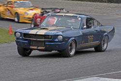 Del MacKenzie - 1965 Ford Mustang in Group 3 at the 2017 SOVREN Spring Sprints run at Pacific Raceways