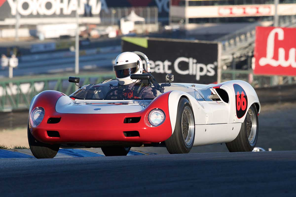 David Hagan - 1963 Elva mk 7 in Group 4 -  at the 2016 Charity Challenge - Sonoma Raceway