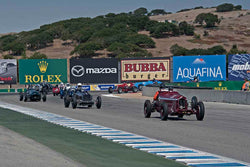 Group 2A - 1927-1951 Racing Cars at the 2017 Rolex Monterey Motorsport Reunion run at Mazda Raceway Laguna Seca