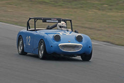Bob Walker with 1967 MG Midget in Group 1 SOVREN 2016 Pacific Northwest Historics - Pacific Raceway