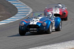 Steve Park - 1962 Shelby 289 Cobra in Group 4B - 1963-1966 GT Cars over 2500cc at the 2017 Rolex Monterey Motorsport Reunion run at Mazda Raceway Laguna Seca