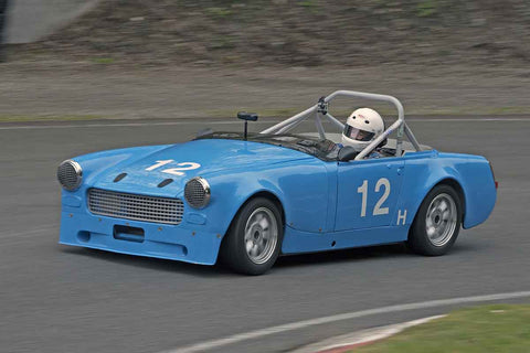 Bob Walker - 1967 MG Midget in Group 1 at the 2017 SOVREN Spring Sprints run at Pacific Raceways