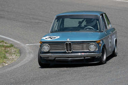 Michael Deilke with 1969 BMW 2002 in Groups 2&3  at the 2016 SOVREN Spring Sprints, Pacific Raceway