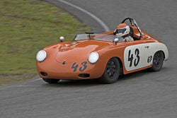 Jim Loveall - 1960 Porsche 356 in Group 1 at the 2017 SOVREN Spring Sprints run at Pacific Raceways