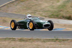 Vern Neff with 1960 Lotus 18 FwithJr. in Group 4 -  at the 2016 SVRA Sonoma Historics - Sears Point Raceway