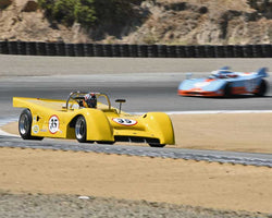 Howard Matloff with 1970 Martin BMwith8 in Group 6A - FIA Manufacturers Championship Cars at the 2015-Rolex Monterey Motorsport Reunion, Mazda Raceway Laguna Seca