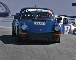 Niels Meissner with 1979 Porsche 911 SC in Group 1 - PCA Sholar-Friedman Cup at the 2015 Rennsport Reunion V, Mazda Raceway Laguna Seca