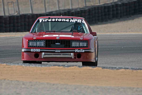 Chris Liebenberg - 1982 Ford Mustang in Group 4A - 1973-1981 FIA, IMSA GT,GTX,AAGT Cars at the 2017 Rolex Monterey Motorsport Reunion run at Mazda Raceway Laguna Seca