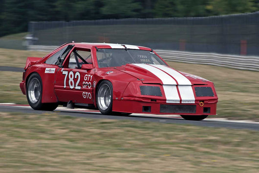 Doug Yip with 1979 Ford Mustang GT1 in Group 6 & 10 -  at the 2016 Portland Vintage Racing Festival - Portland International Raceway