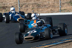 John Delane - 1965 Brabham BT-18 in Group 6B - Formula B at the 2017 CSRG Charity Challenge run at Sonoma Raceway