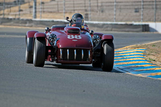 Thomas Claridge - 1953 Kurtis 500S-22 in Group 1 -  at the 2016 Charity Challenge - Sonoma Raceway