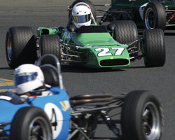 Locke de Bretteville driving his 1969 Palliser-Winkelmann WDB2 in Group 6 at the 2015 CSRG David Love Memorial Vintage Car Road Races at Sonoma Raceway