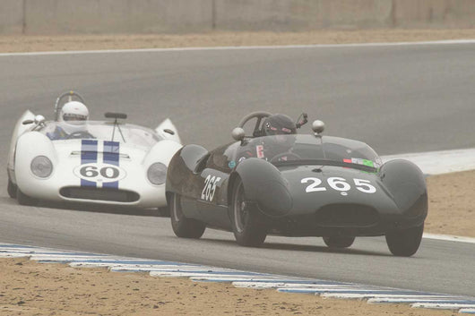 Sandra McNeil - 1958 Cooper Monaco T49 in Group 2A  at the 2016 Rolex Monterey Motorsport Reunion - Mazda Raceway Laguna Seca