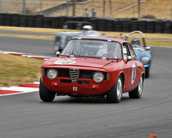 Stephen Chamberlin with 1965 Alfa Romeo Guilia GT in Group 3 - Medium Displacement Production Card at the 2015 Portland Vintage Racing Festival at Portland International Raceway