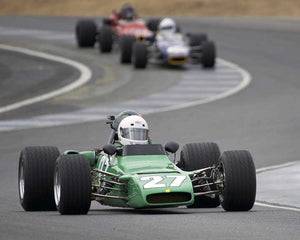 Locke de Bretteville with 1969 PalliserwithWinkelmann WDB2 in  Group 7 at the 2015 Season Finale at Thunderhill Raceway