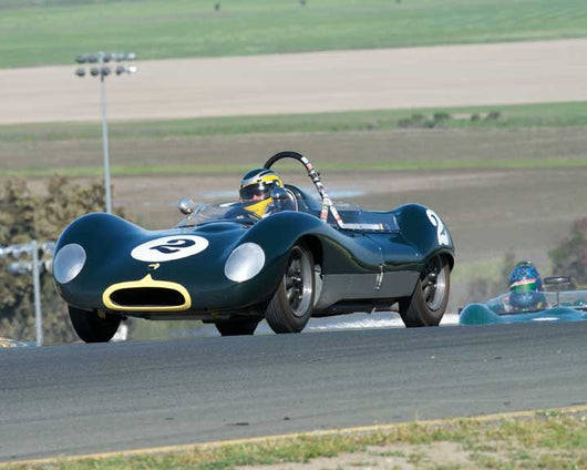 Edward Nigro with 1960 Lola Mk I in Group 9 - at the 2016 CSRG David Love Memorial - Sears Point Raceway
