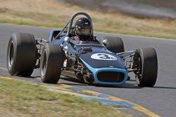 Bruce Sevier - 1968 Lola T 140Open Wheel Cars - greater than 1600cc Twin Cam - Group 8 at the 2017 SVRA Sonoma Historic Motorsports Festivalrun at Sonoma Raceway